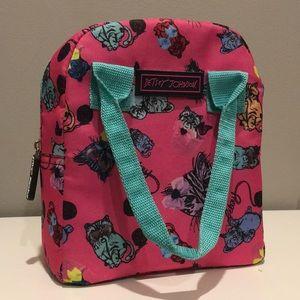 Betsy Johnson cat lunch bag